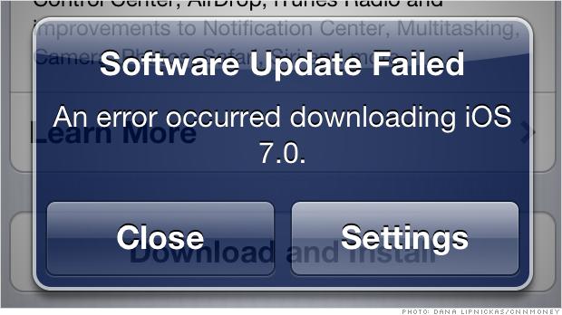 ios 7 download no wifi