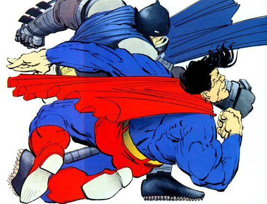 batman-vs-superman-frank-miller