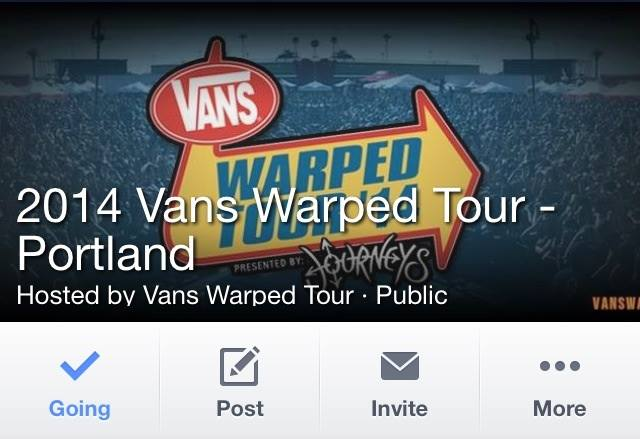 2014 VANS WARPED TOUR!!!