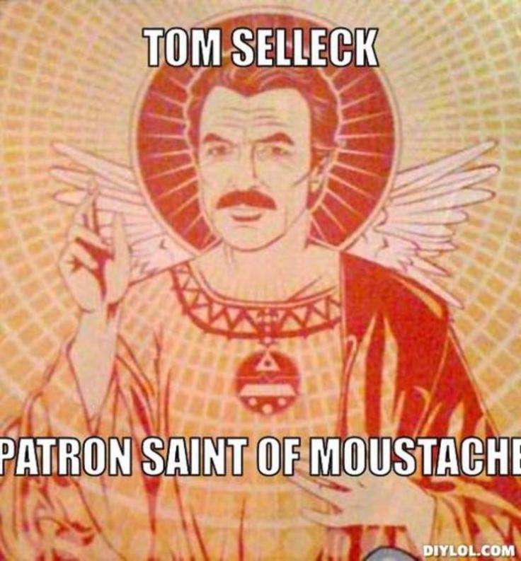 Tom Sellecks Moustache