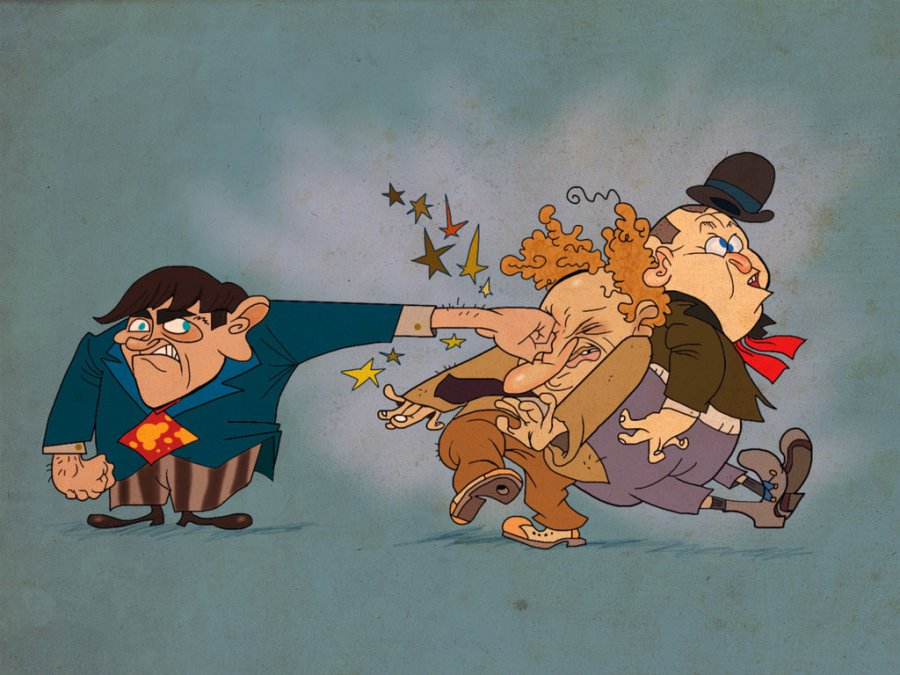 Spumco_Stooges_by_Makinita