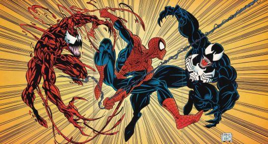 Spider-Man-vs-Venom-and-Carnage