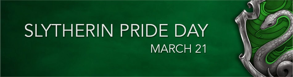 Happy Slytherin Pride Day! – Nerdy Life of Mine